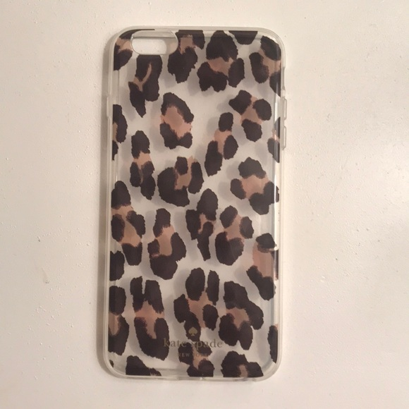finest selection 90384 3d7d1 iPhone 6 Plus cheetah kate spade case NWT